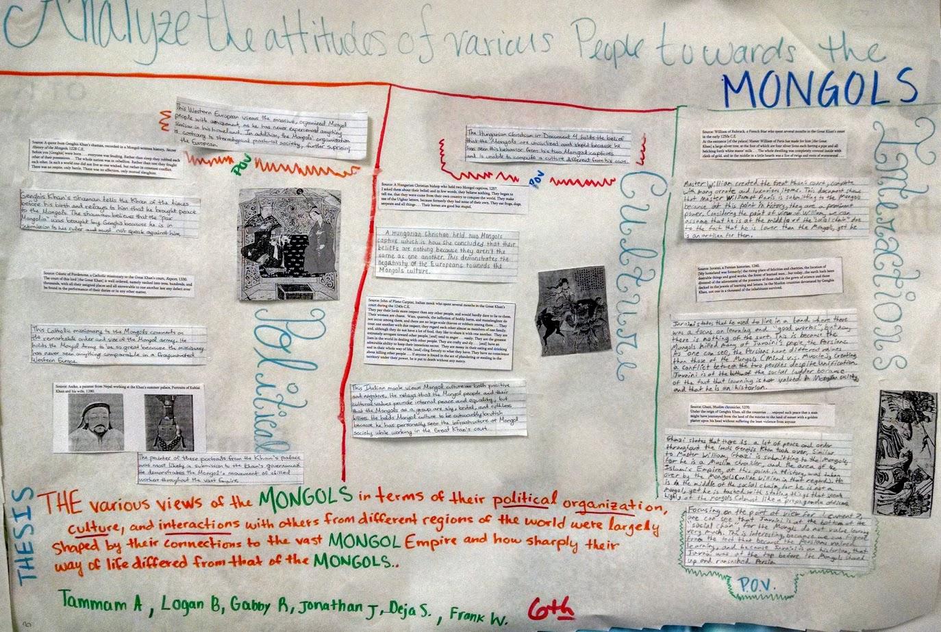 ap world history essays college board