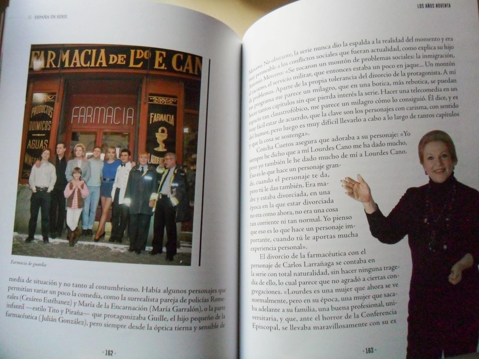La serie de Antena 3 Farmacia de guardia, en España en serie