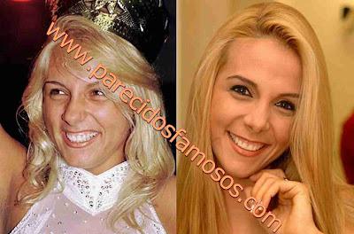 Carla Pérez Brasileña Antes y Después