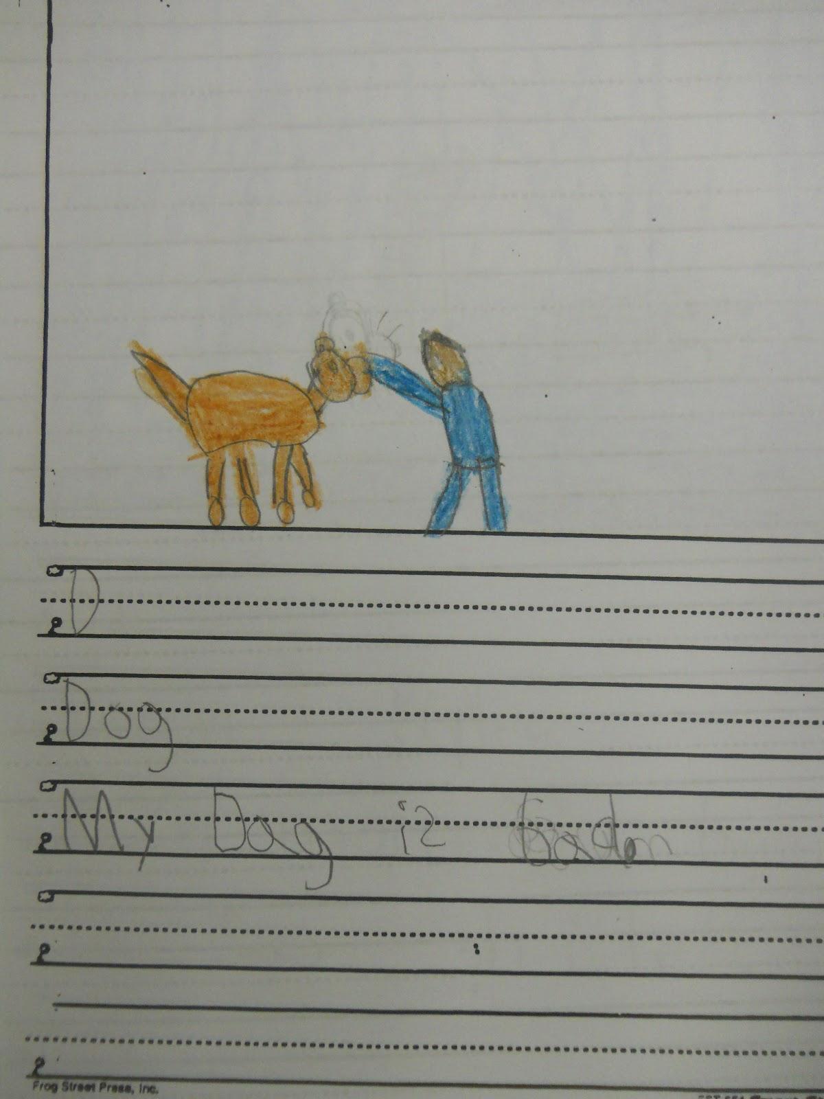 Mrs. T's First Grade Class: Letter-Word-Sentence Writing