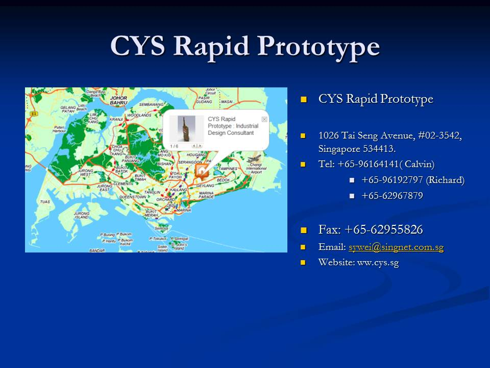 Product design consultant singapore introduction of cys for Product design singapore
