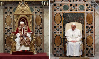7 DIFFERENCES POPE FRANCIS HAS MADE IN ONE APPEARANCE.
