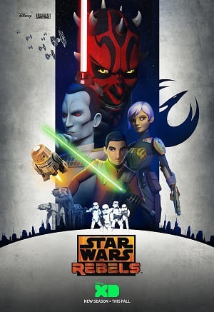 Star Wars Rebels - 3ª Temporada Legendada Desenhos Torrent Download completo