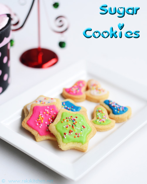 Sugar cookies recipe with easy icing