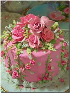 valentine roses Cakes