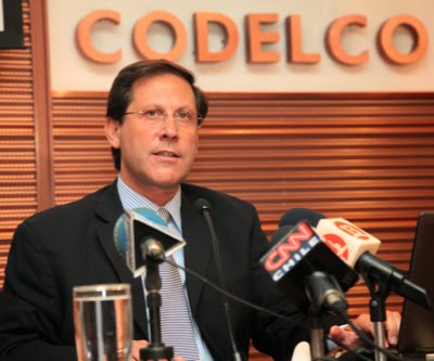 Chile's Codelco Output slips slightly in first quarter