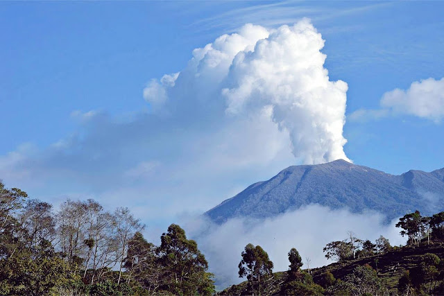 Costa Rica's Turrialba Volcano is the third Central American volcano to erupt this week