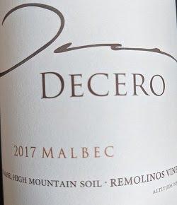 Notre vin de la semaine est cet excellent Malbec d'Argentine !
