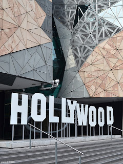 hollywood comes to federation square