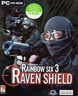 Rainbow Six 3: Raven Shield PC Box