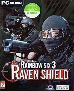 Rainbow Six 3: Raven Shield PC Box