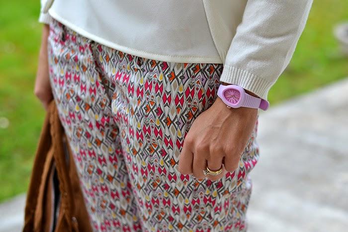 orologio hoops rosa