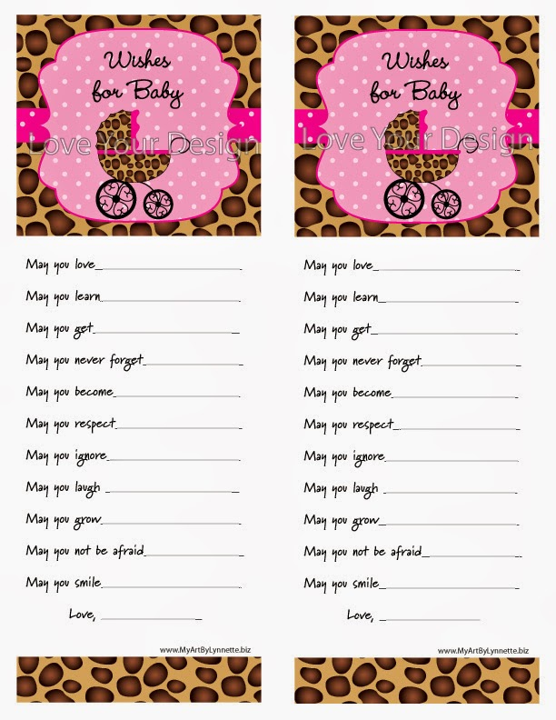 leopard theme baby shower games will make your party fantastic
