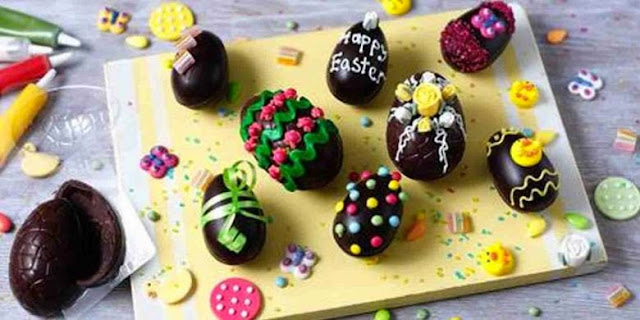 Resep dan Cara Membuat Kue Cokelat Telur Paskah