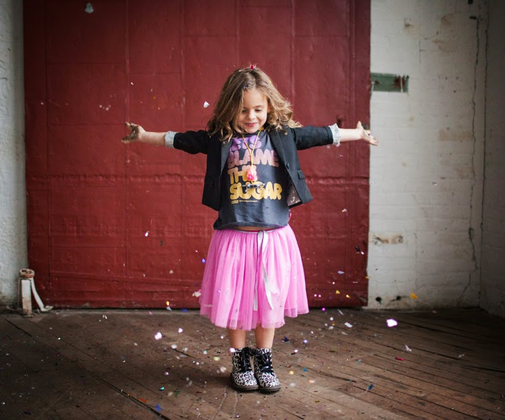 Cool girls clothes for Dirt & Noise kidswear shop holiday look book 2014