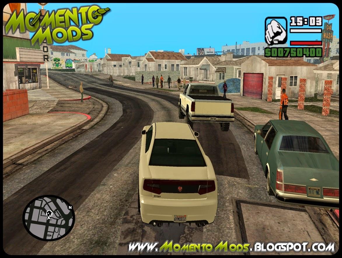 GTA SA - Atualização Para TC GTA 5 Para GTA San Andreas