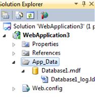 App_Data Database1.mdf