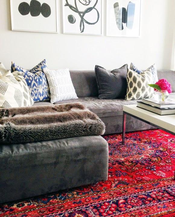Como deixar a casa aconchegante no inverno tapete