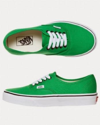 vans verdes 36