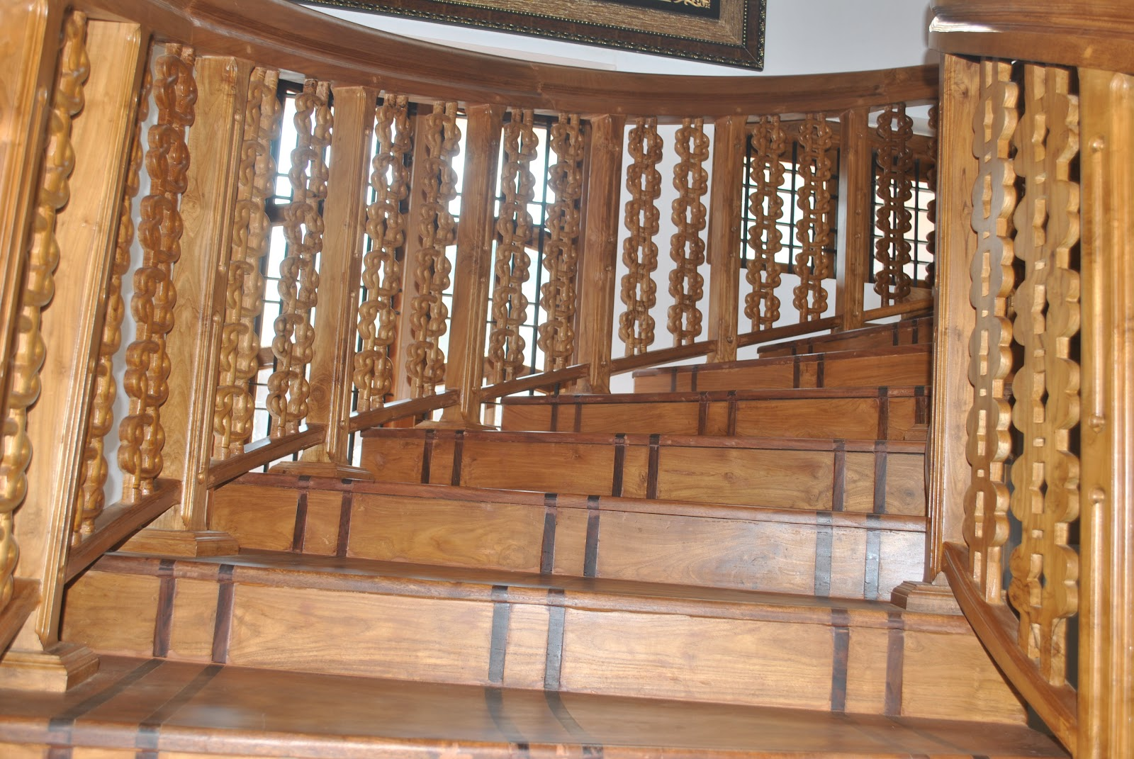 Wooden Stair Case Signage Industries