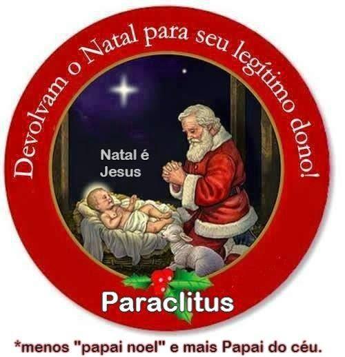 O VERDADEIRO NATAL É O NASCIMENTO DE JESUS CRISTO
