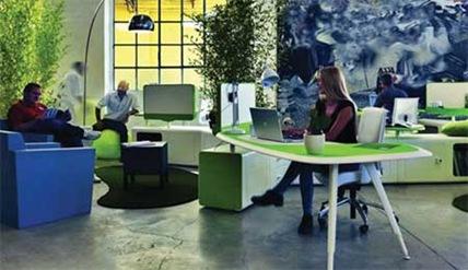 Colores para la decoraci n de oficinas modernas for Colores para oficinas modernas
