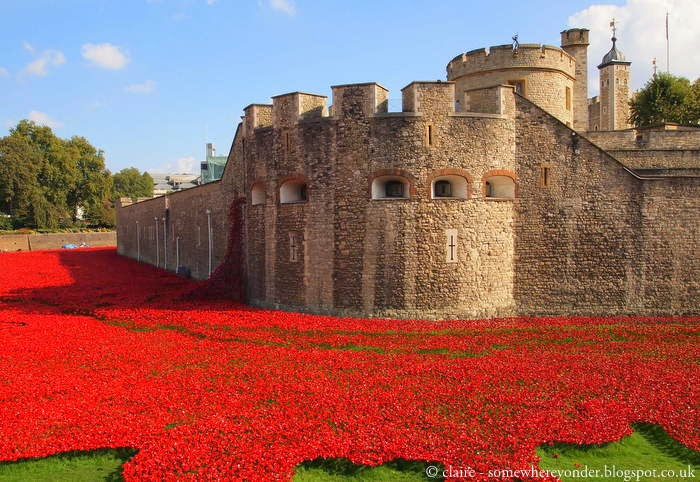 Tower of London poppies art installation