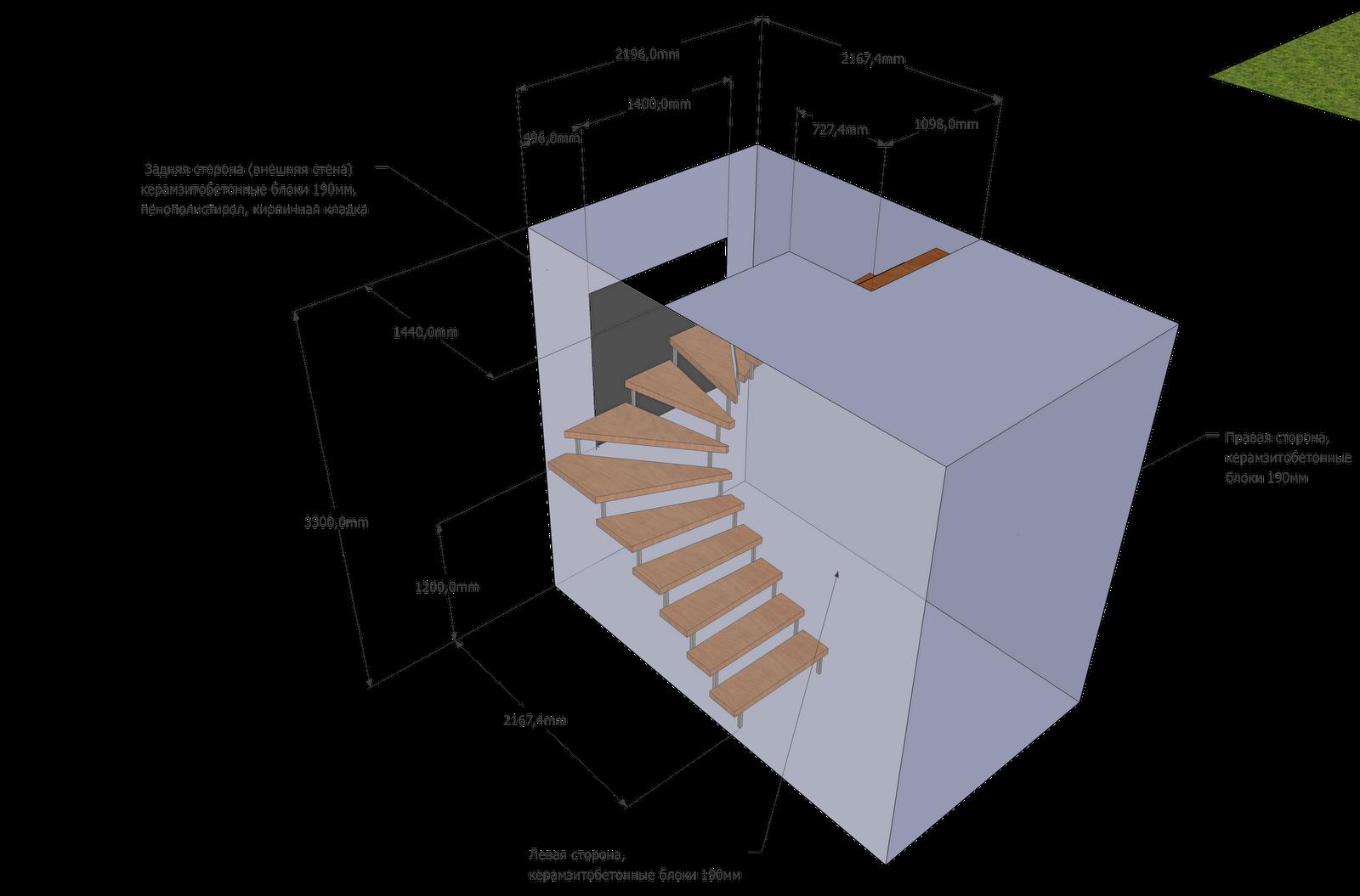 Расчет лестница в доме на второй этаж своими руками