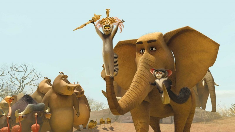 An elephant witch doctor in Madagascar 2: Escape 2 Africa http://animatedfilmreviews.filminspector.com/2012/12/madagascar-escape-2-africa-2008-full-of.html