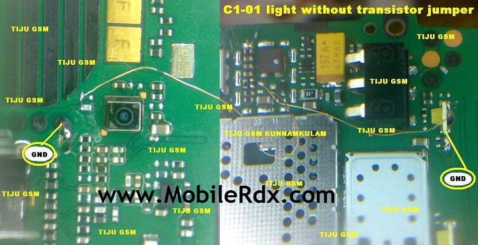 C1-01 Light Solution Without Transistor Jumper -Noka