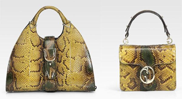Přírodní vzory a obzvláště ty hadí vzory jsou letos velmi žádané 45b6e025479