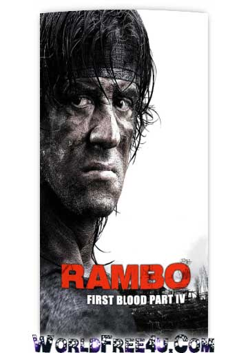 Poster Of Rambo 4 (2008) In Hindi English Dual Audio 300MB Compressed Small Size Pc Movie Free Download Only At worldfree4u.com