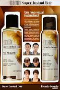 Colorific Instant Hair ou Cabelo Instantâneo - Cobertura temporária da calvície e rarefação capilar