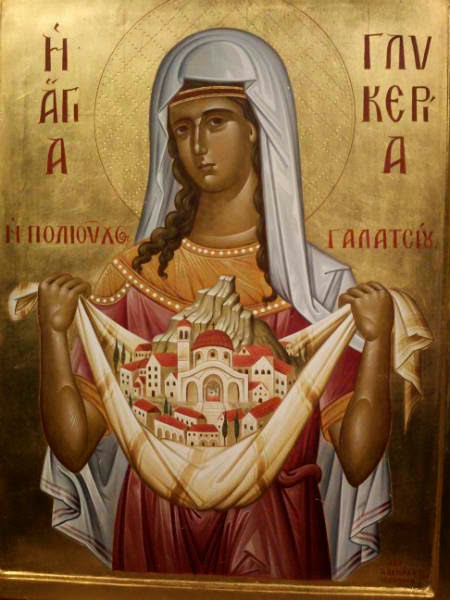 Ιερός Καθεδρικός Ναός Αγίας Γλυκερίας Γαλατσίου