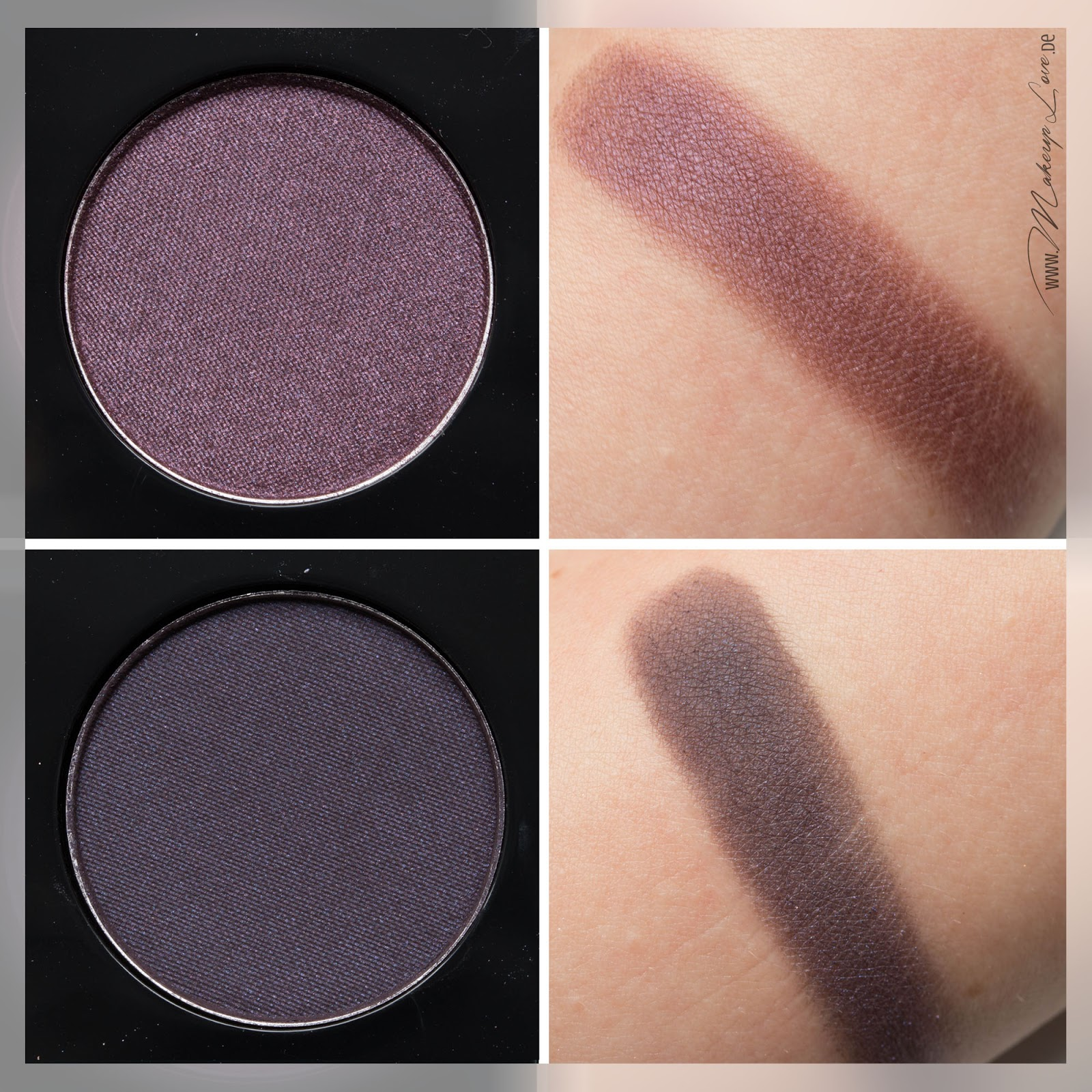 MAC A passionate Quest Quad brazenly stay sultry swatch