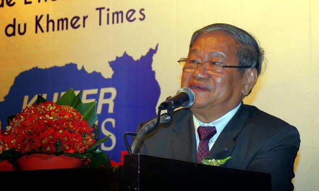 Khieu Kanharith, ministre de l'Information. Photo Christophe Gargiulo