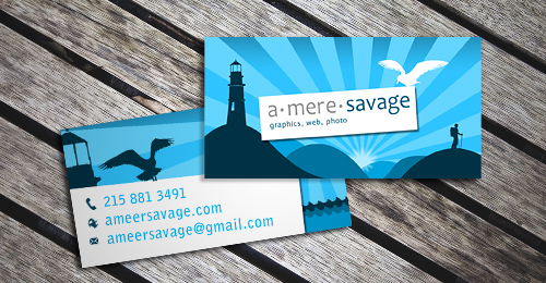 37) Business Card