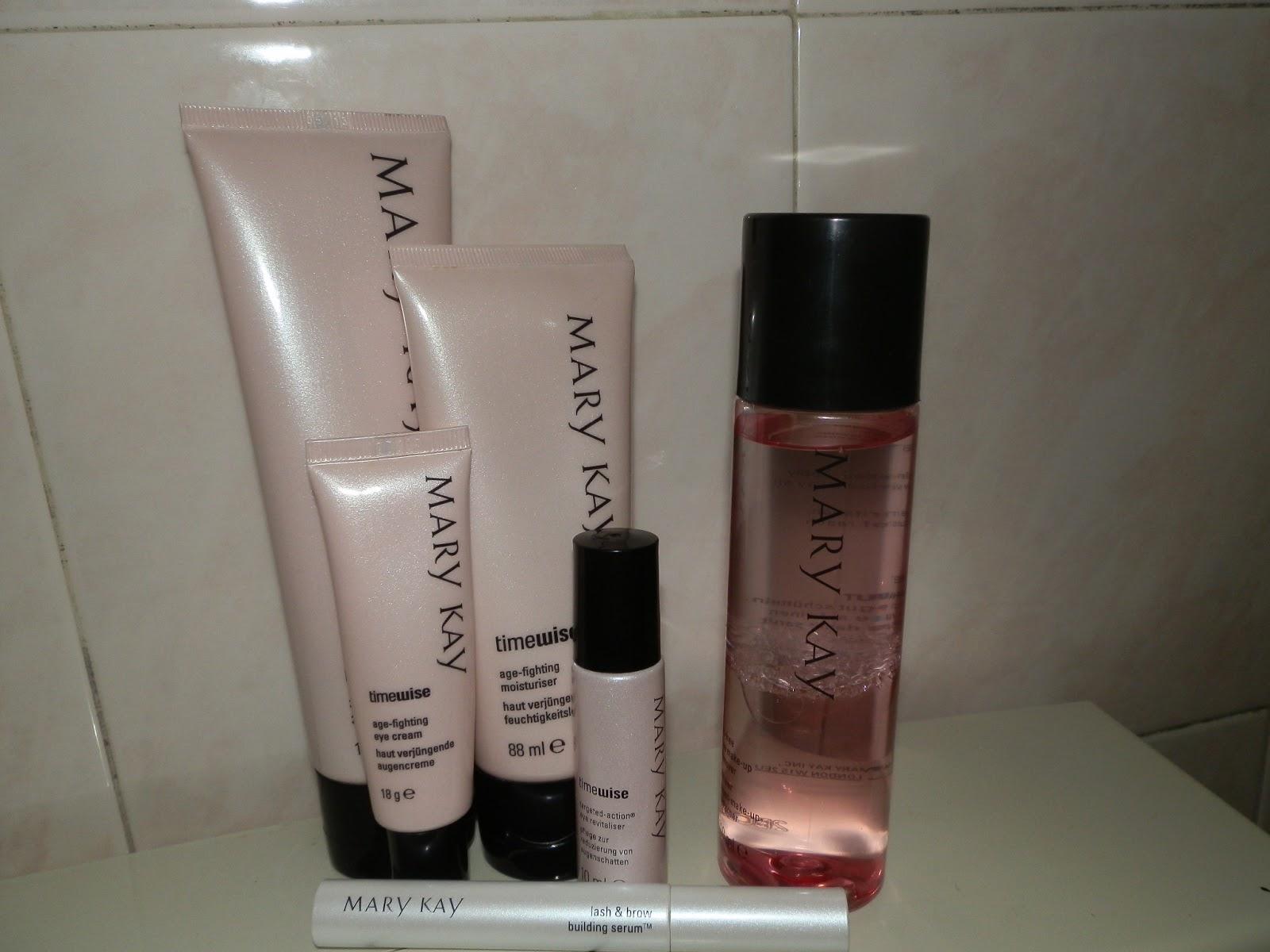 Produtos utilizados (todos da marca Mary Kay)
