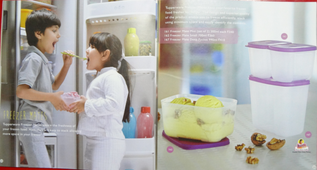 Tupperware India January 2014 catalog