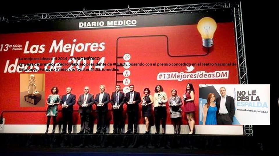 CEADE PREMIADA DIARIO MÉDICO: LAS MEJORES IDEAS 2014