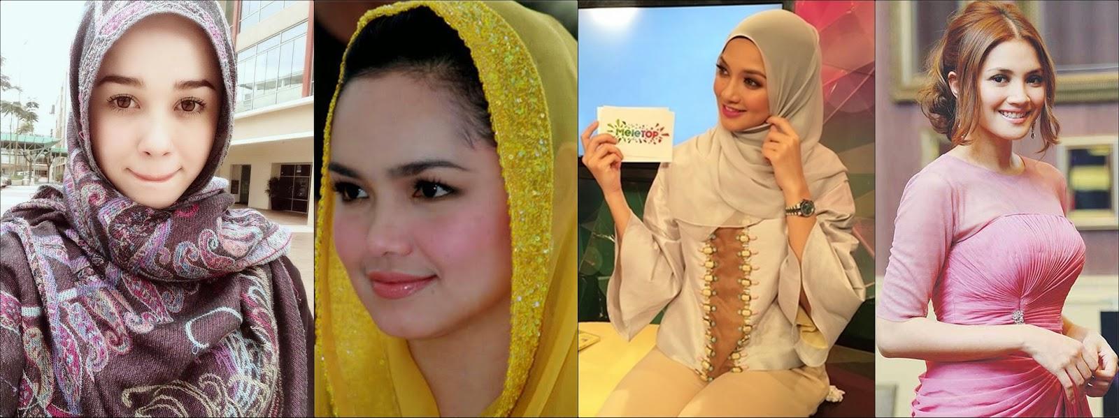 Gambar Bila Artis Popular Malaysia Tanpa Make up