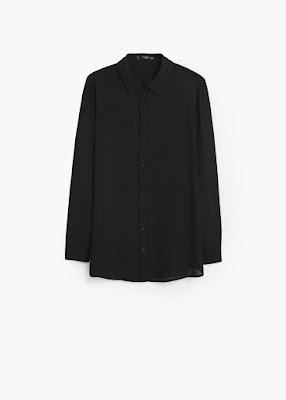 Mango Flowy Shirt