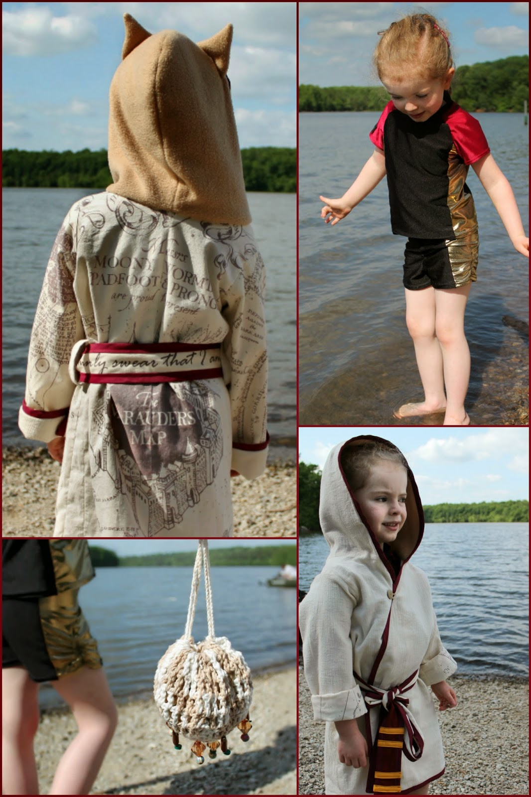 Harry Potter-Inspired Beach Wear for CraftingCon | The Inspired Wren