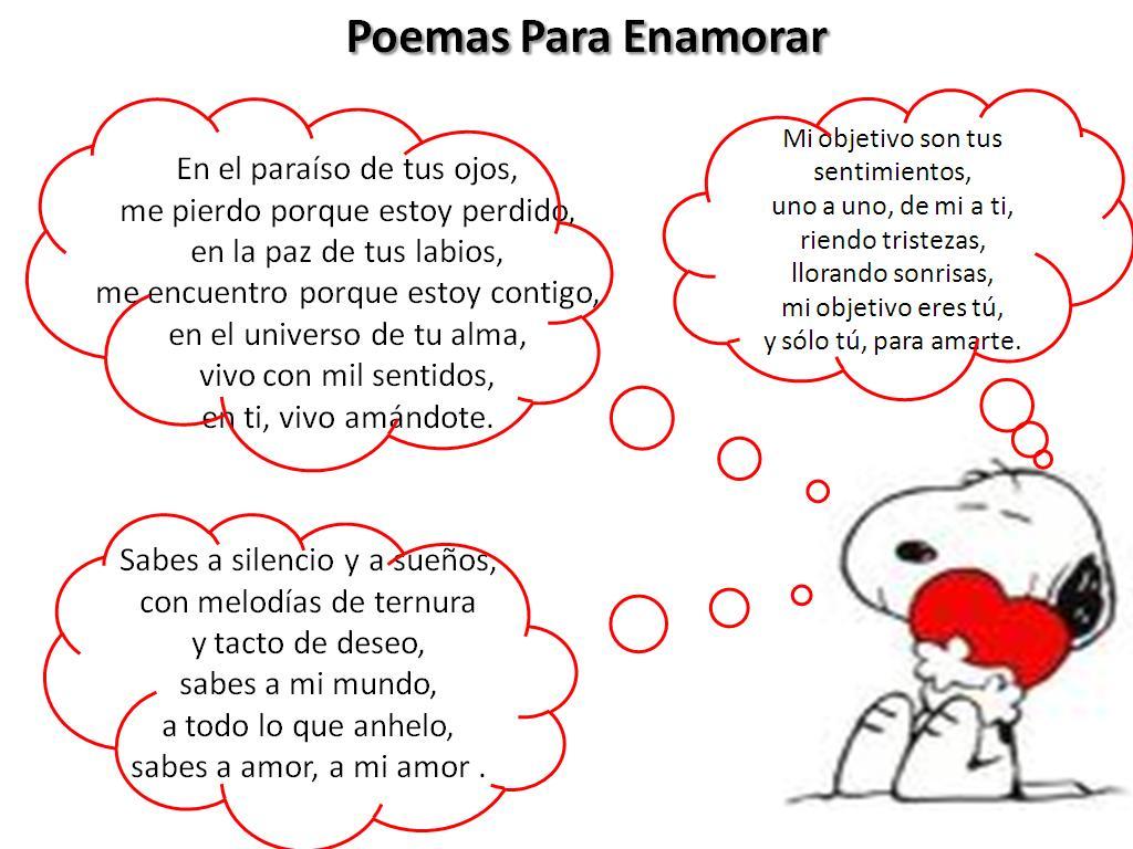 Poemas De Amor Cortos Para Enamorar