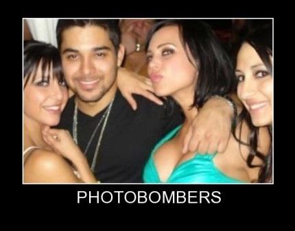 Discrete But Successful Photobomb