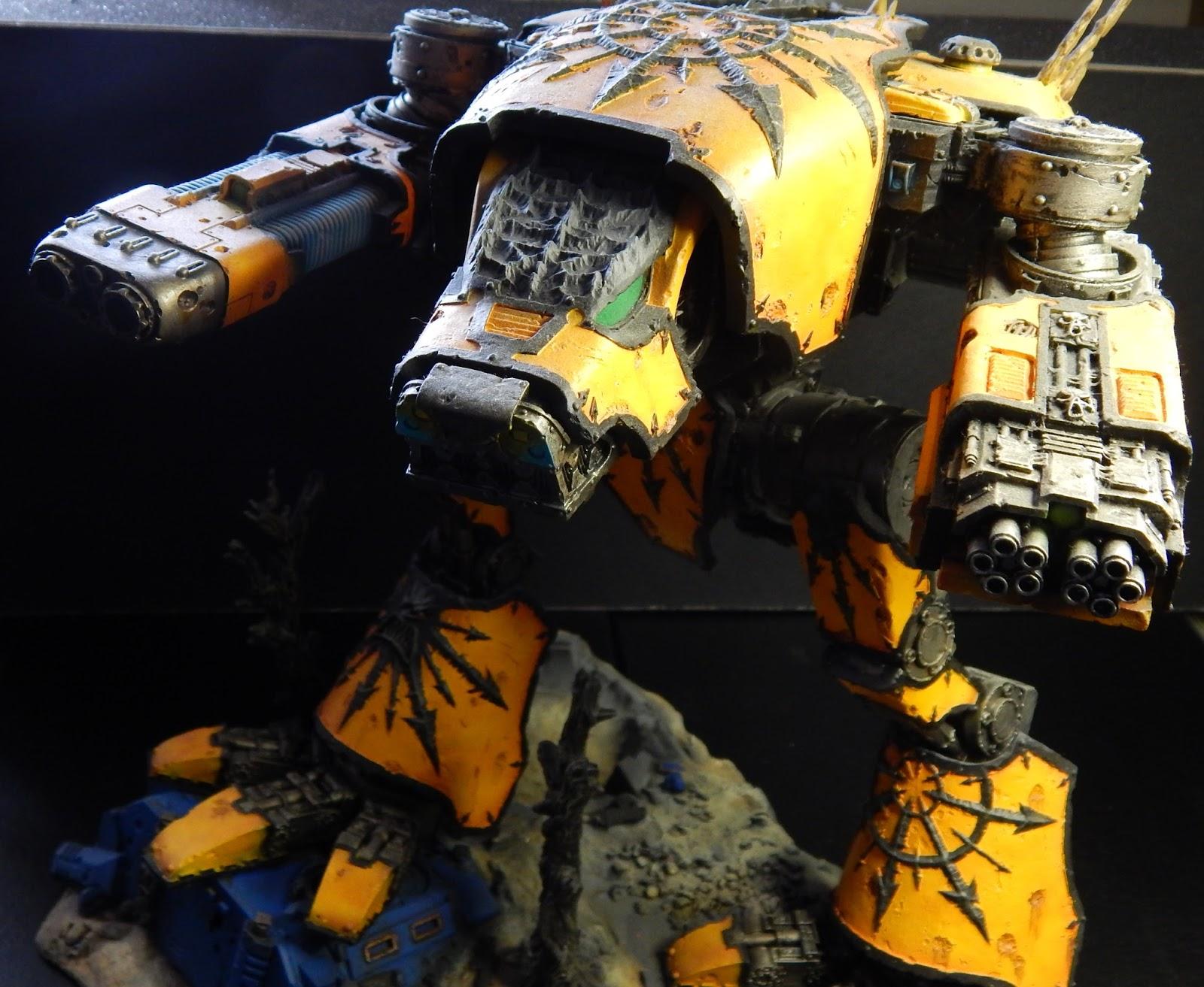 Mars Warhound Titan Paint Job