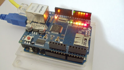 Arduino Ethernet Shield W5100 - Funcionamento