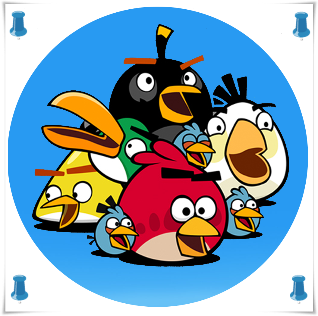 Free Coloring Pages Of Mewarnai Angry Birds