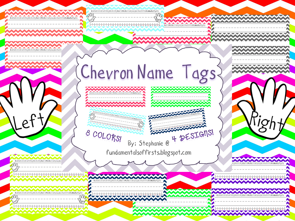 Fundamentals of firsts the ultimate chevron classroom for Cool things to print out