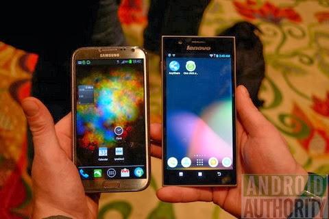 Lenovo K900 Vs Samsung Galaxy Note II
